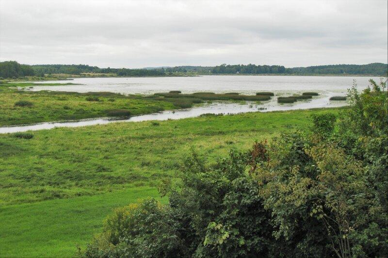 Река Сороть и озеро Кучане