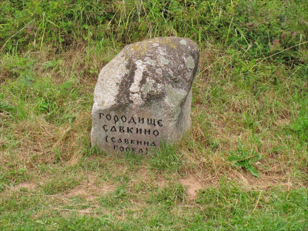 Пушкинские горы, Городище Савкина горка