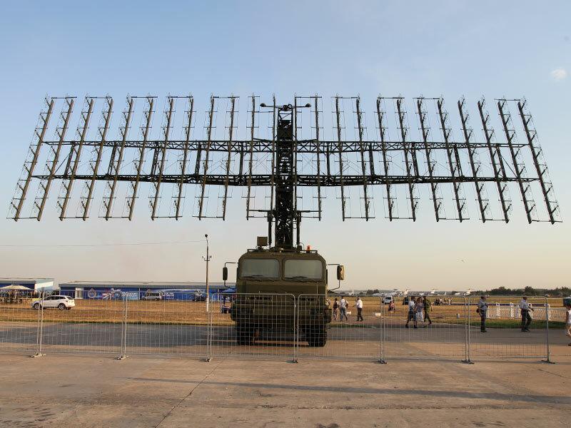 Мобильный радиолокационный комплекс Небо-М