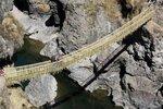 Древний    верёвочный   мост   Инки .