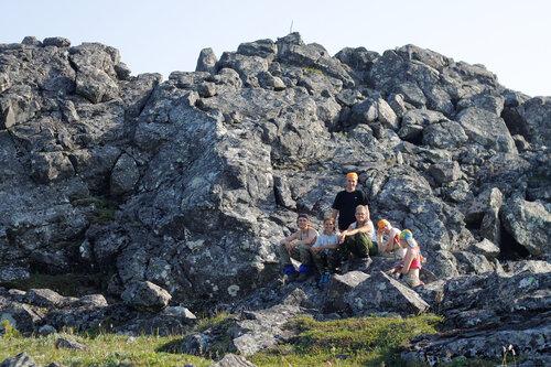 Под вершиной Казанского Камня