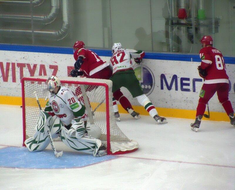 Витязь-Ак Барс (Фото с матча).