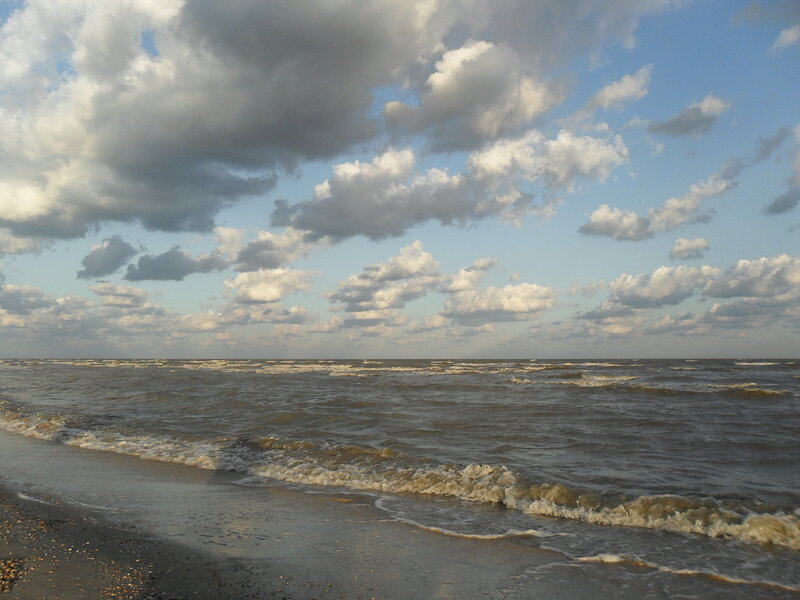 Утро у моря, август 2011