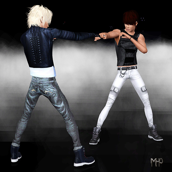 Download best Free male pose at the sims 3