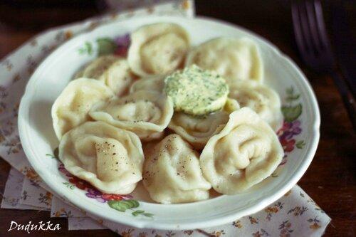 вареники с сырой картошкой рецепт с фото