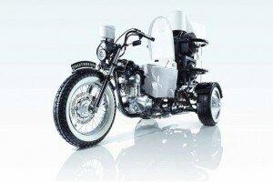 Японцы заправили мотоцикл дерьмом