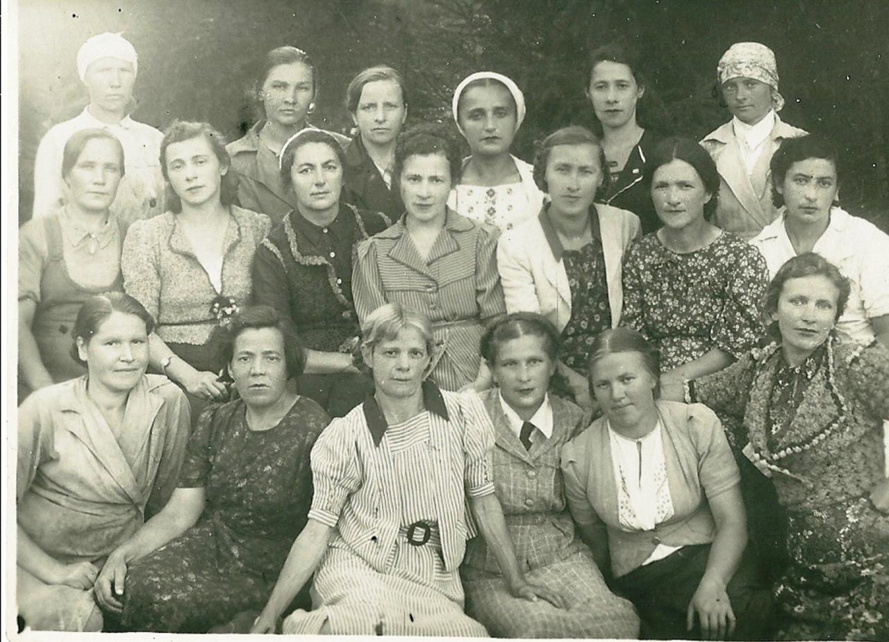 1944. Взрослый персонал интерната