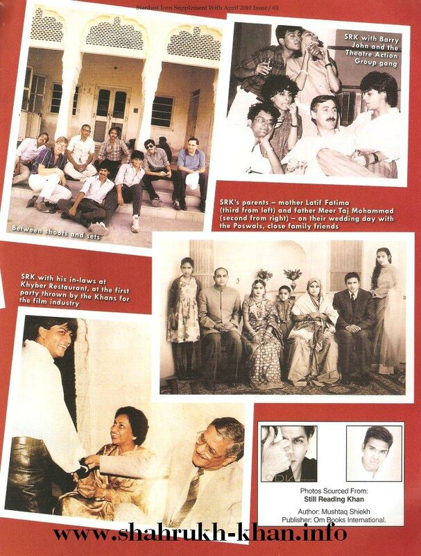 Stardust April 2010 - Shahrukh Khan's life (3)