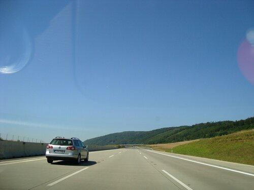 По автобану в Чехии