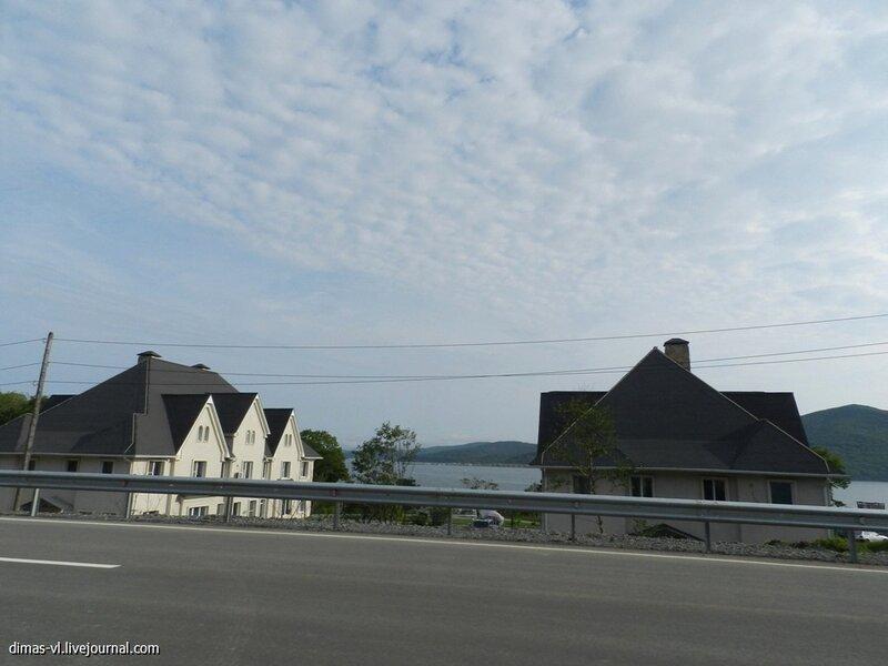 Строительство на острове Русском. 21-августа-2012г