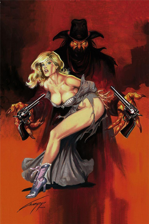 Горячие женщины - Рисунки художника Рафаэля Галлура / Rafael Gallur pictures - The Devils Colt
