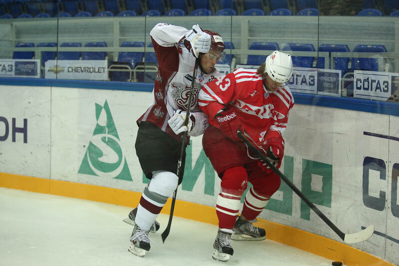 «Спартак» vs «Динамо» (Рига) 2:3 ОТ Кубок губернатора 2012 (Фото)