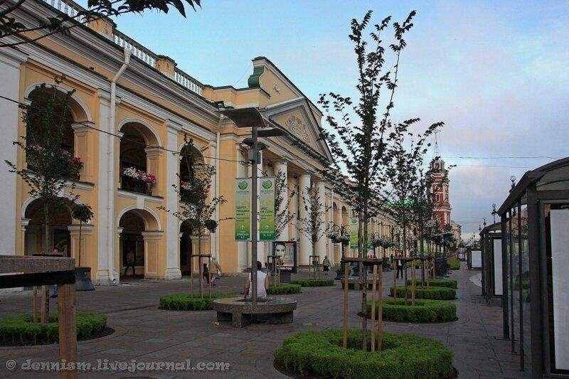 Санкт-Петербург. Невский проспект. Гостиный двор.