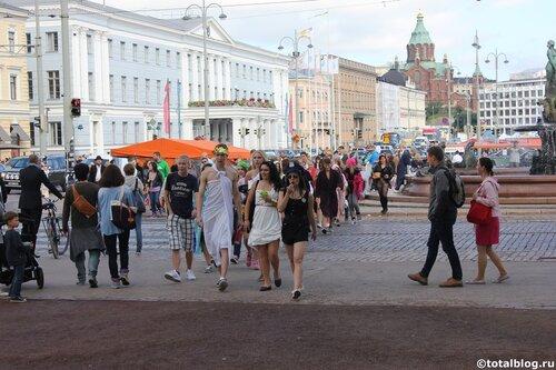Ночь искусства в Хельсинки