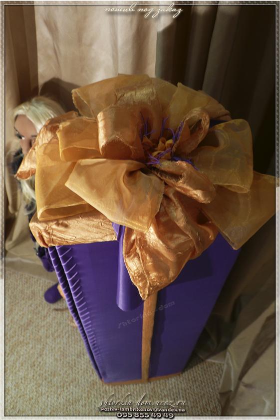 упаковка подарков. домик для кукол