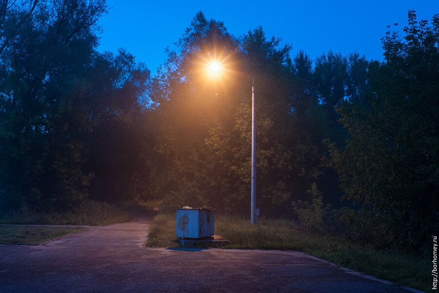 туман, тишина и одиночество