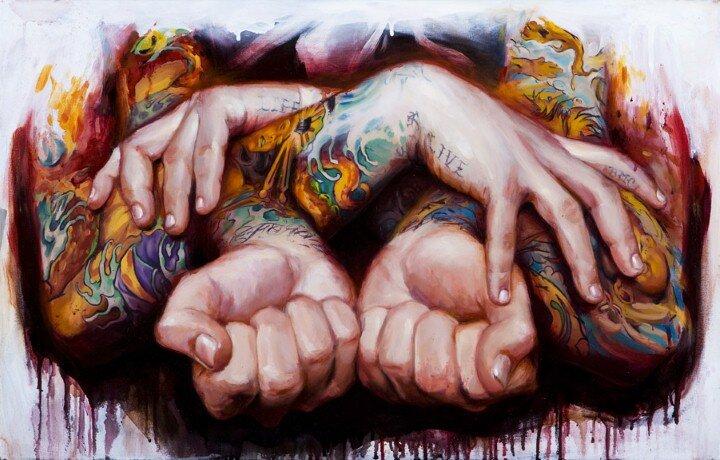 Shawn Barber. Татуированные картины 15