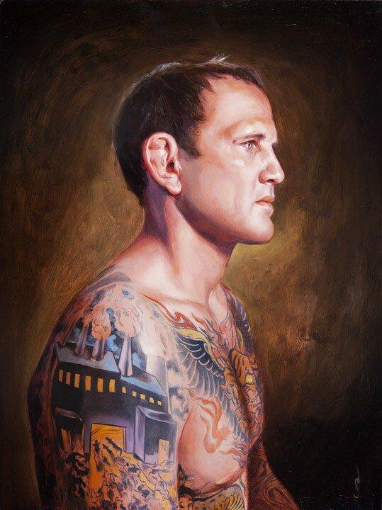 Shawn Barber. Татуированные картины 17