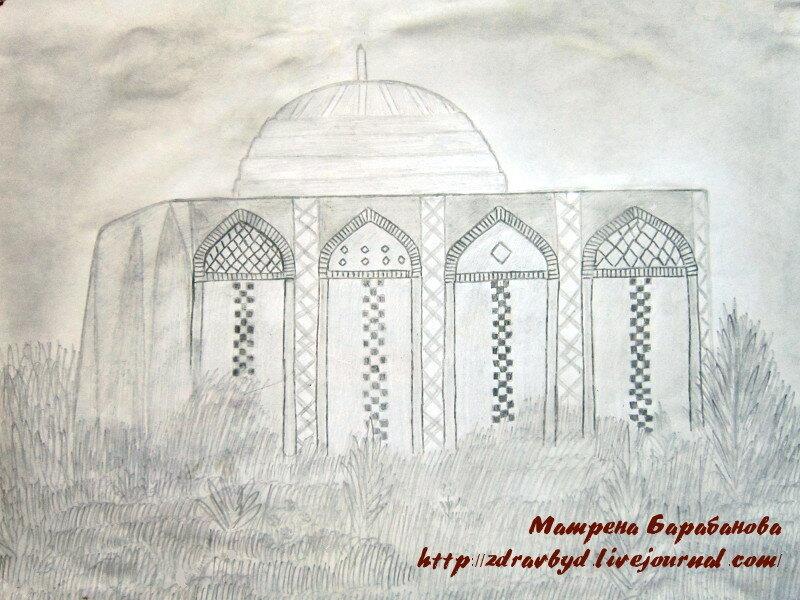 мечеть талхатан-баба