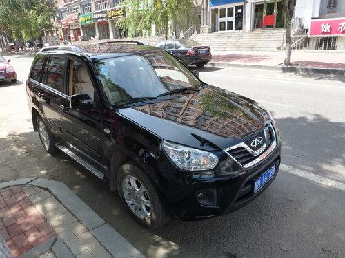 автомобиль Чери в Хэйхэ