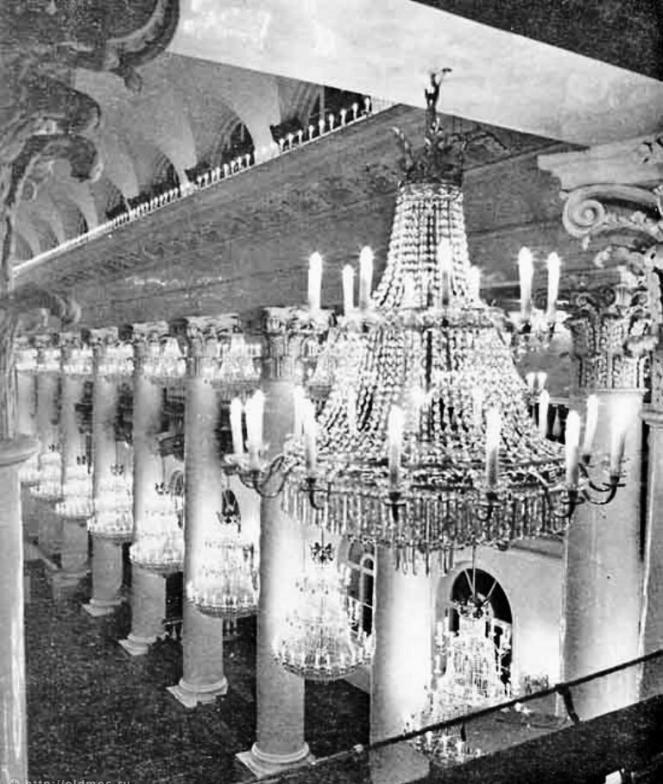 Колонный зал Дома Союзов (бывш.  Благородного собрания) .