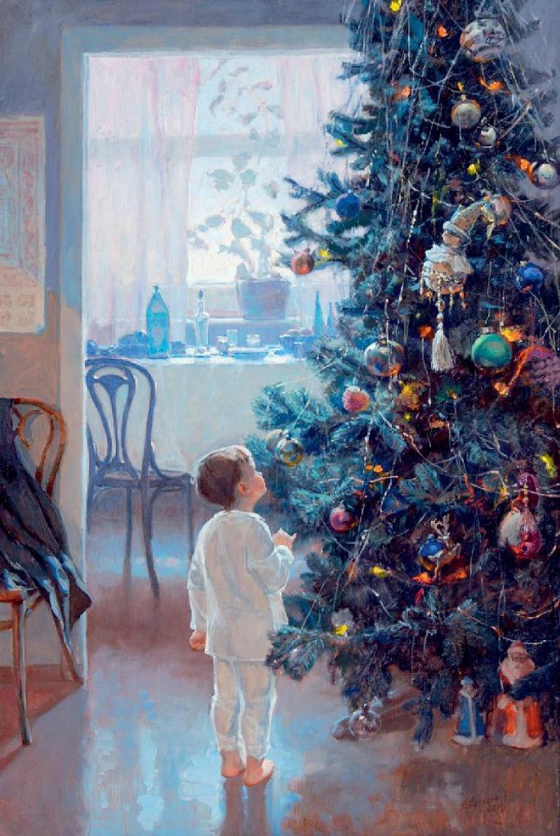 Александр Левченков , «Утро Нового года»