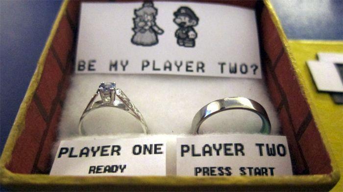 Предложение девушке геймера