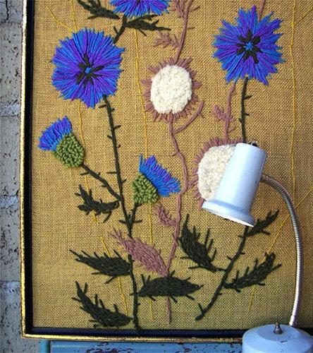 Вышивка для украшения интерьера