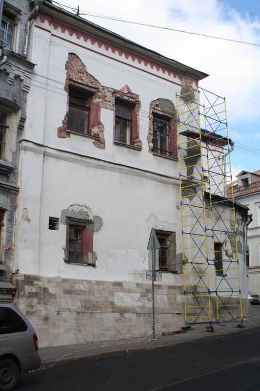 Палаты Украинцева в Хохловском переулке