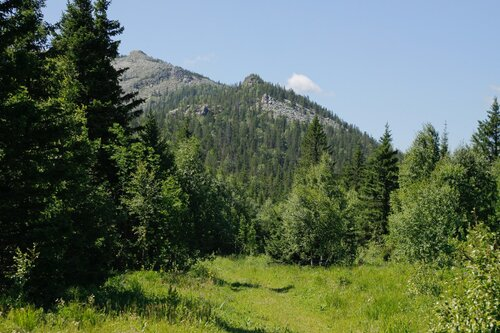 Вид с перевала назад, в сторону Катавки