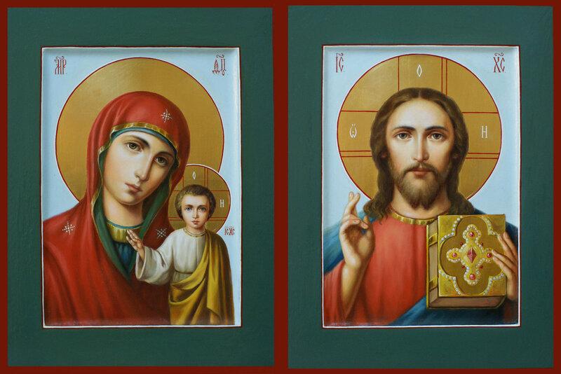 Господь Вседержитель и Пресвятая Богородица Казанская