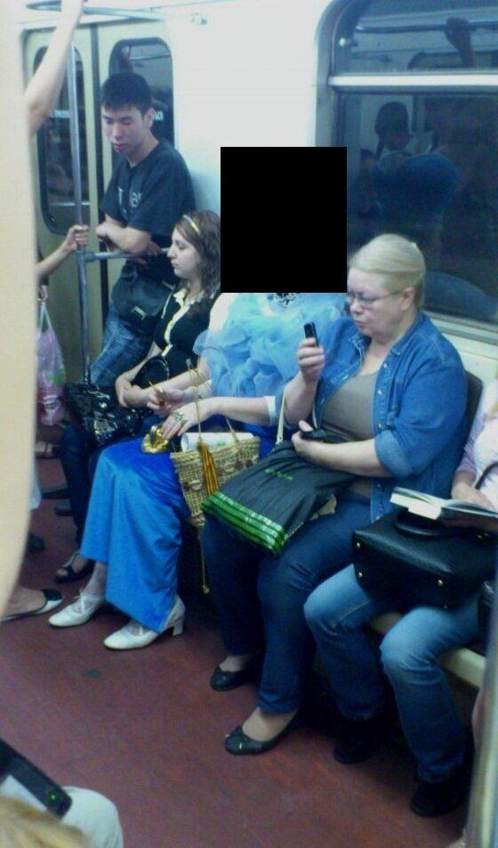 Королева метрополитена существует