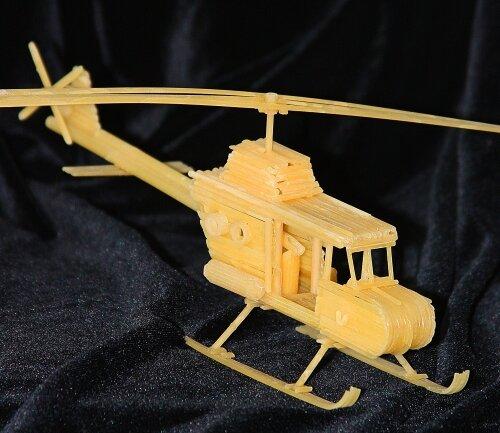 Россиянин получил патент на изготовление сувениров из макарон
