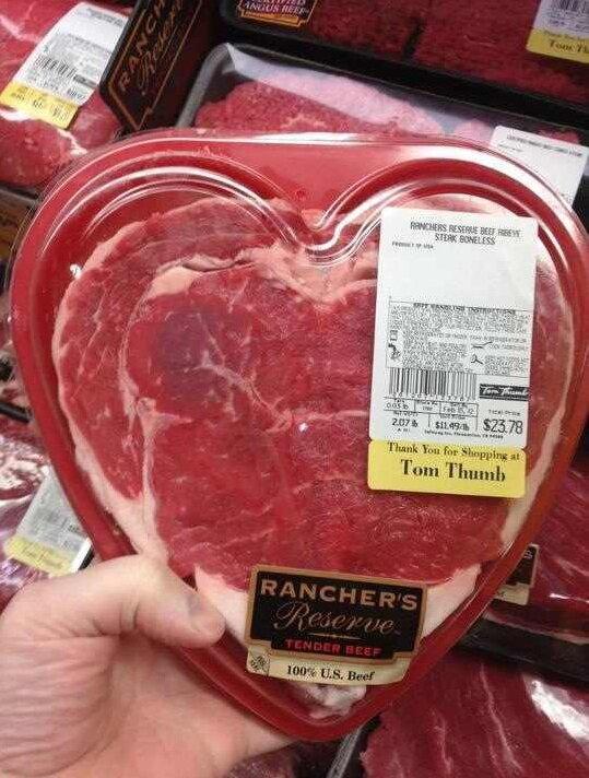День Валентина в Техасе
