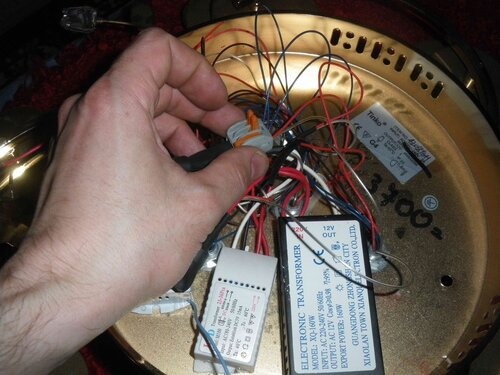 Ремонт люстры с пультом управления ремонт
