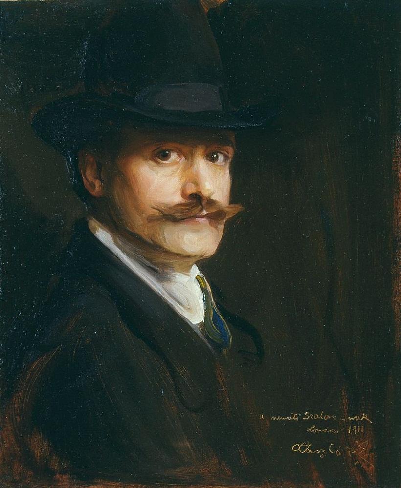 Автопортрет 1911