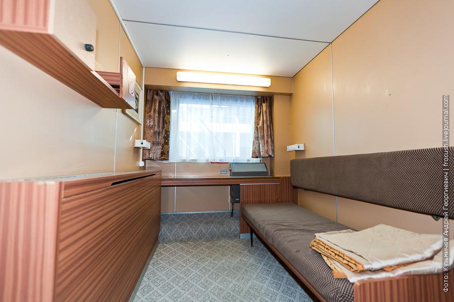 Двухместная одноярусная каюта со всеми удобствами №30 на шлюпочной палубе теплоход Феликс Дзержинский