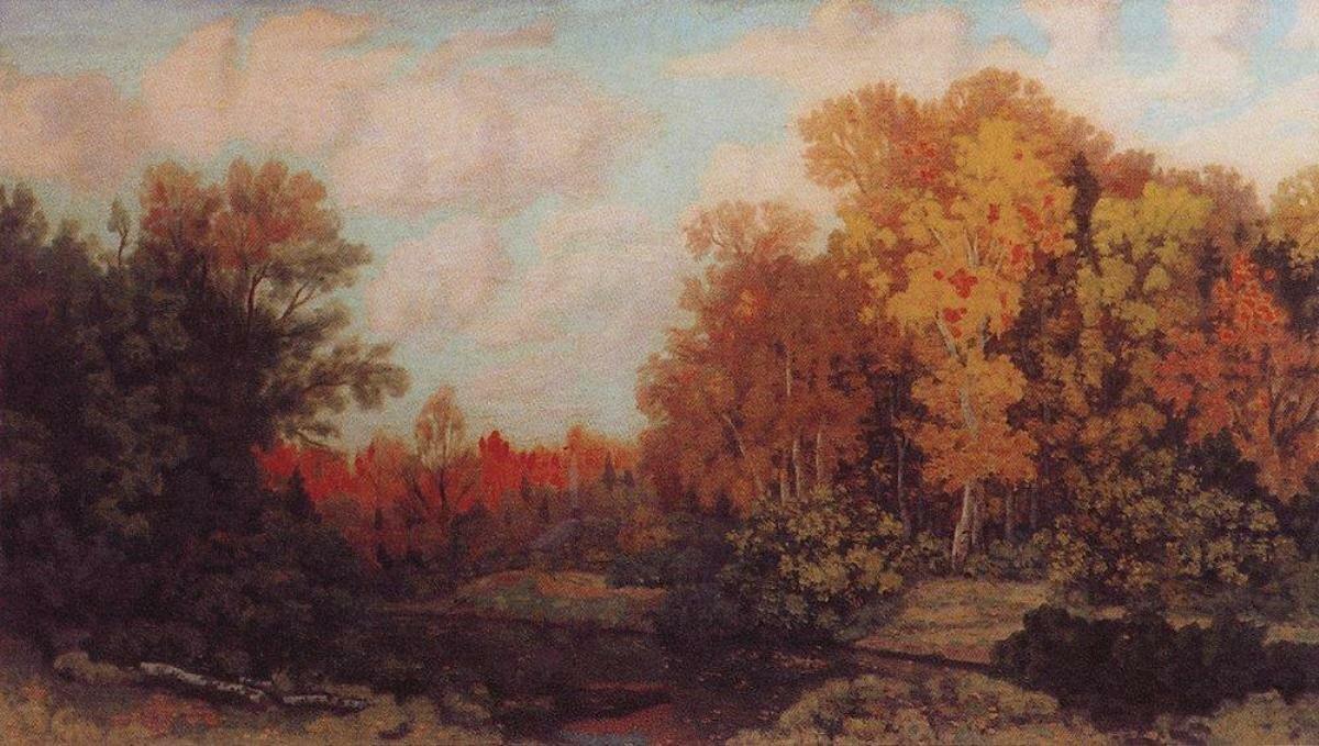 Осенний вечер. Золотая осень. 1915., Крымов, Николай Петрович (1884—1958)