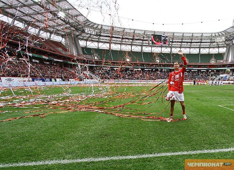 Прощальный матч Егора Титова (Фото)