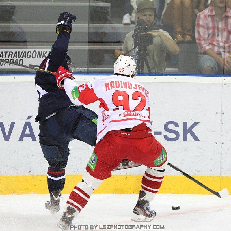 «Слован» vs «Спартак» 2:1 Б чемпионат КХЛ 2012-2013 (Фото)