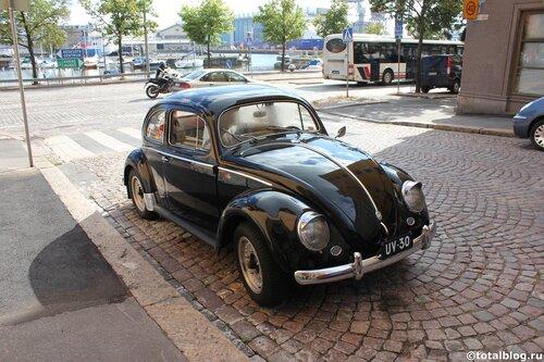 Хельсинки-город красивых автмобилей