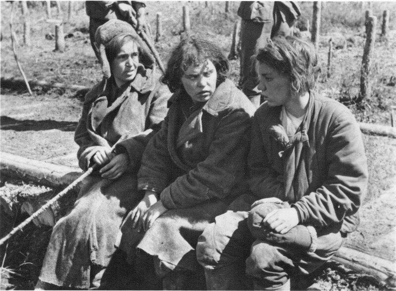 Советские женщины-военнопленные