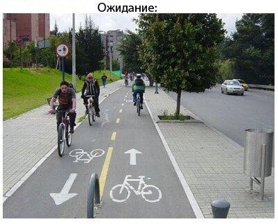 В Кемерово сделали велодорожки