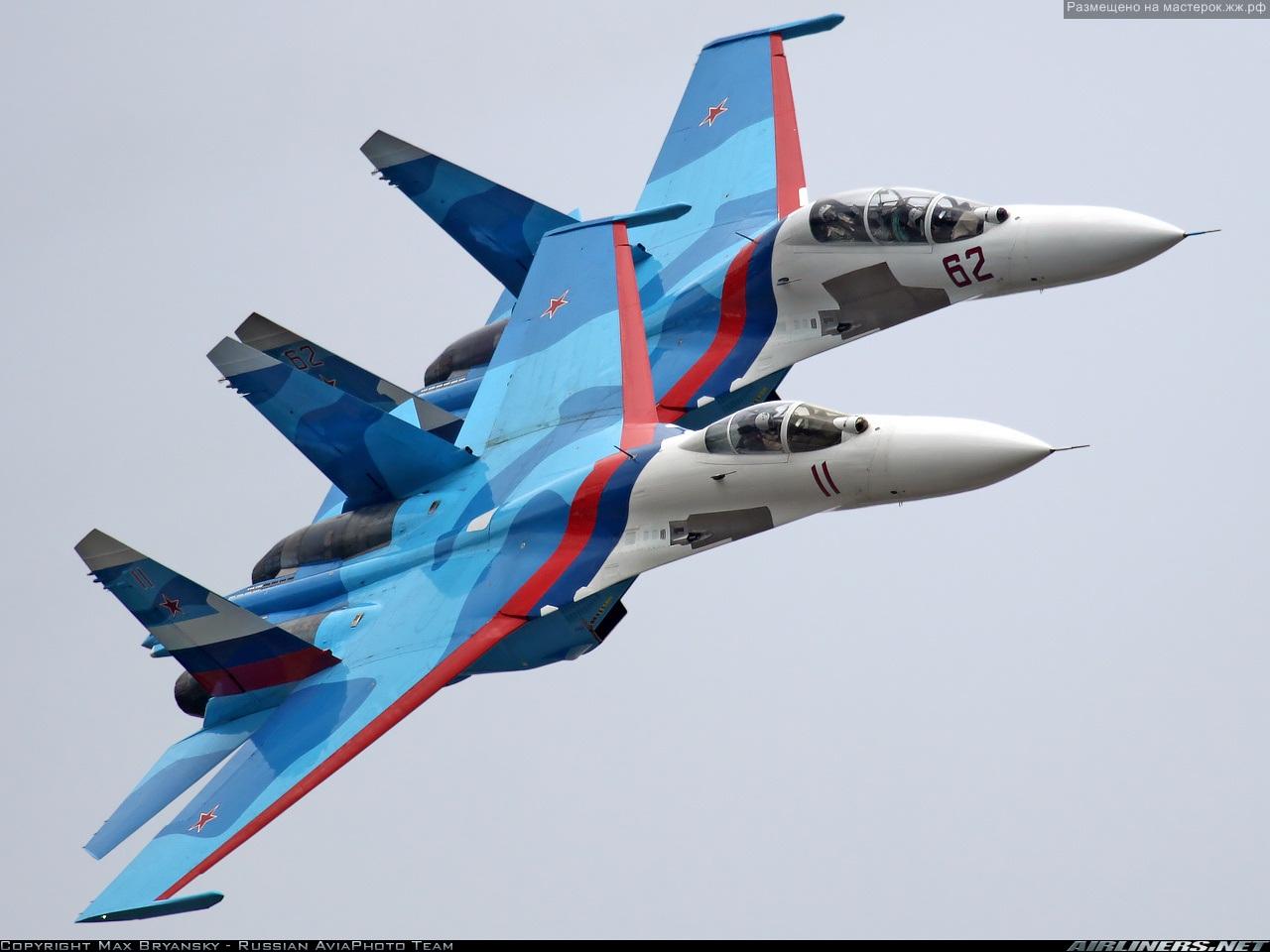 Следующий подарок: Боевой вылет на самолете СУ-27.