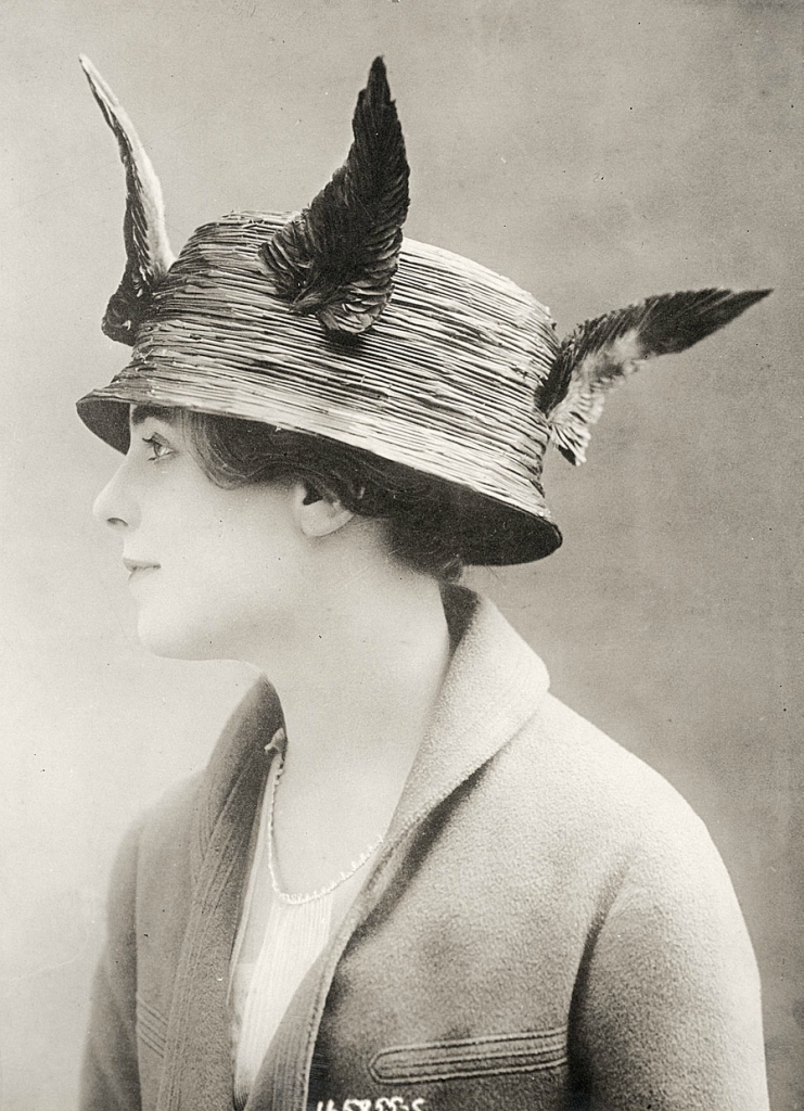 0 6f5b2 b2d43df6 orig Женские шляпки 1913   1915 годов