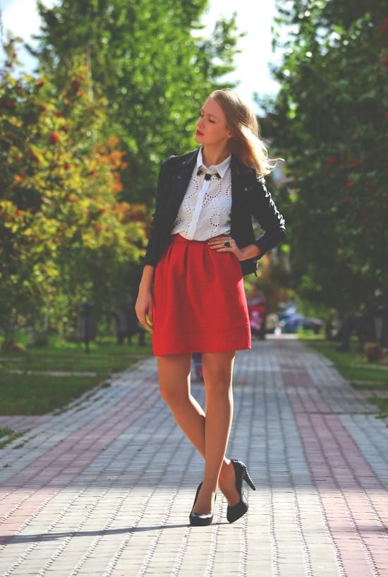 Модная юбка мастер класс