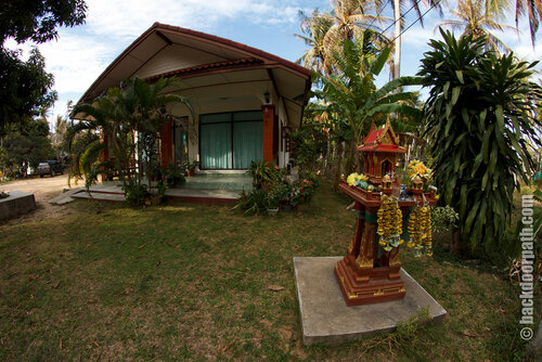 Thai spirit house, saan phra phum