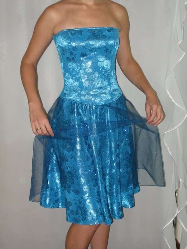 Жаккардовый комплект - корсет и юбка