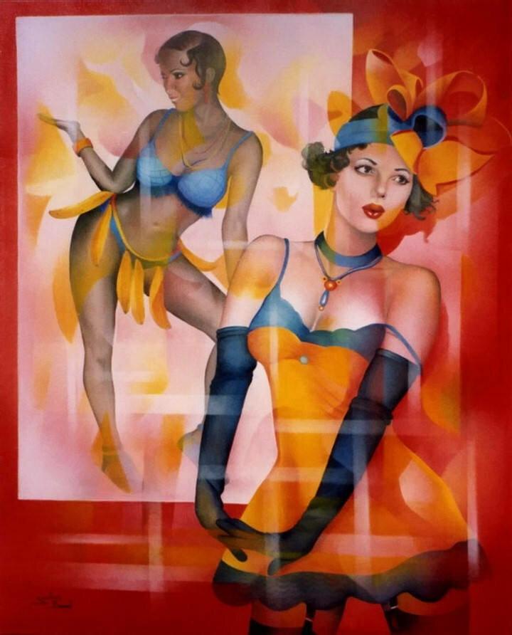 Jeannette Guichard-Bunel. Pin Up с сюрреализмом и юмором 15
