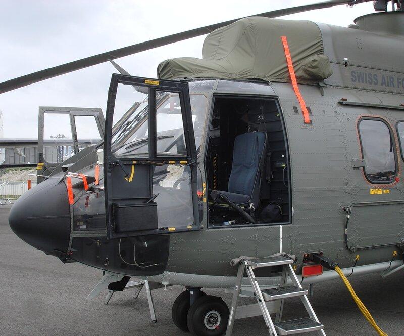 транспортный вертолет TH06 (Супер Пума) ВВС Швейцарии